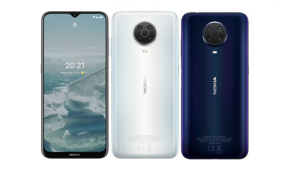 Nokia G20 in colors