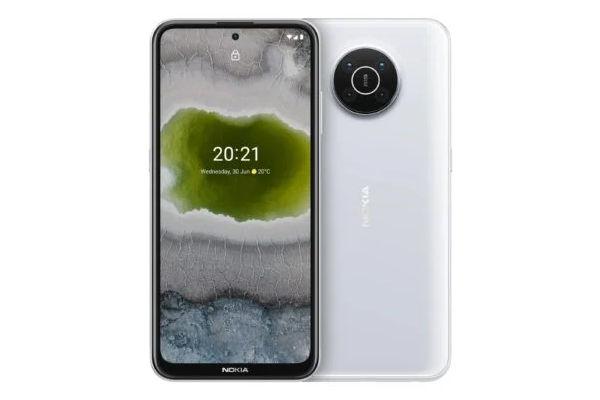 Nokia X10 in snow color