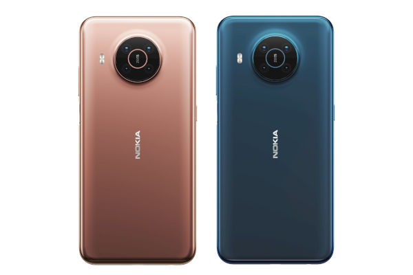 Nokia X20 in colors