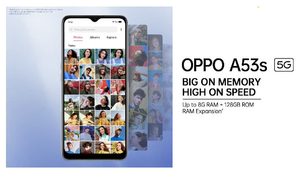OPPO A53s 5G launched
