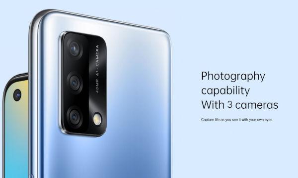 Oppo A74 4G cameras