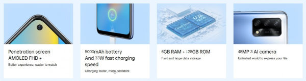 Oppo A74 4G specs and features