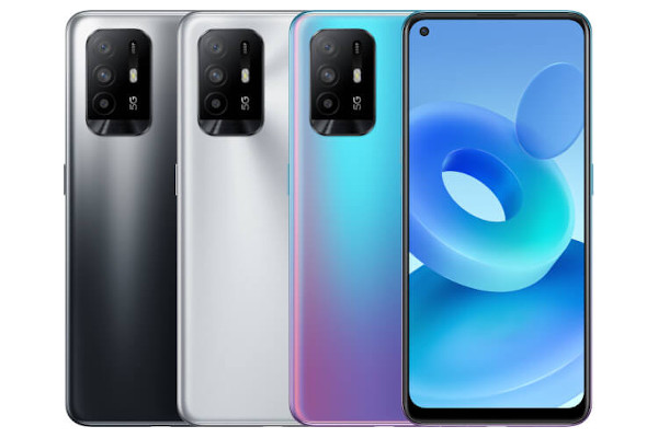 Oppo A95 5G in colors