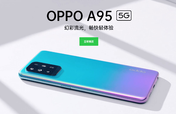 Oppo A95 5G launched