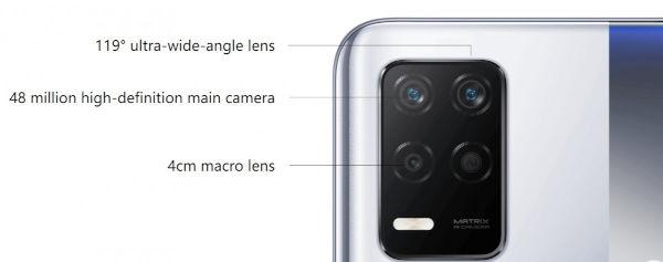 Realme Q3 5G cameras