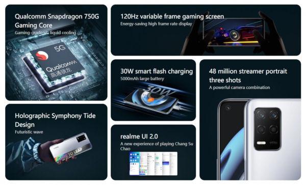 Realme Q3 5G specs