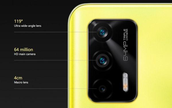 Realme Q3 Pro 5G cameras