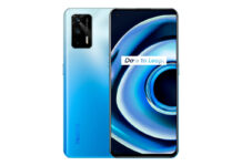 Realme Q3 Pro 5G in Electric Blue