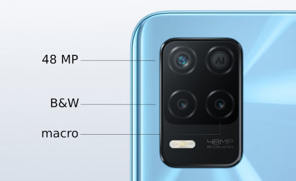 Realme Q3i 5G cameras