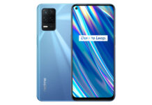 Realme Q3i 5G in Light Blue