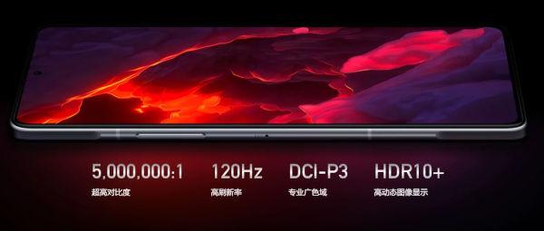 Redmi K40 Game Enhanced Edition display