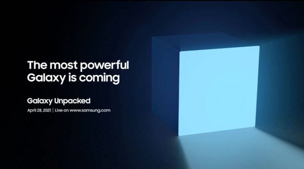 Samsung Announces Galaxy Unpacked Event For April 28