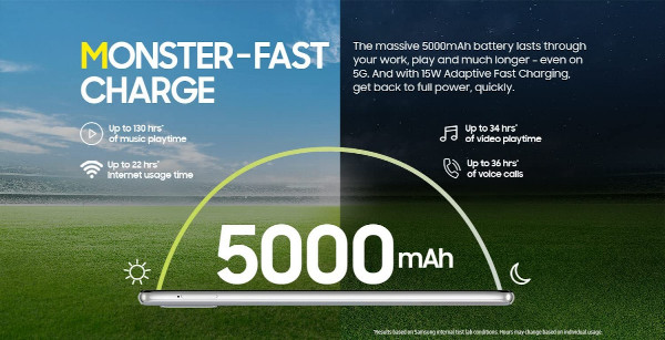 Samsung Galaxy A42 5G power features
