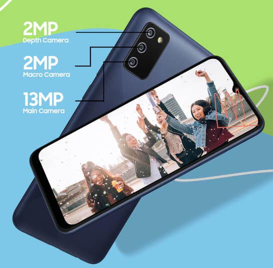 Samsung Galaxy F02s cameras