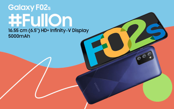 Samsung Galaxy F02s launched
