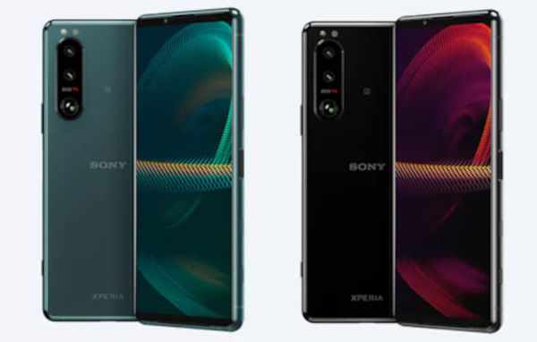 Sony Xperia 5 III in colors
