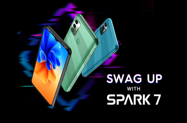 Tecno Spark 7 launched