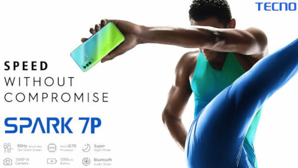 Tecno Spark 7P launched