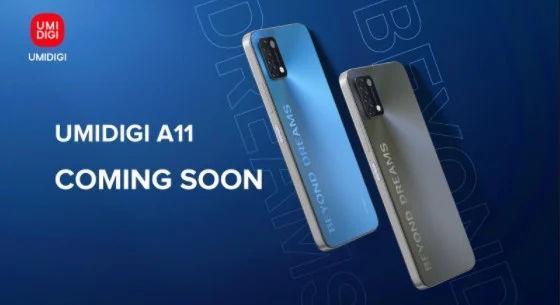 Umidigi A11 Coming Soon