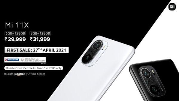 Xiaomi Mi 11X Price and availability