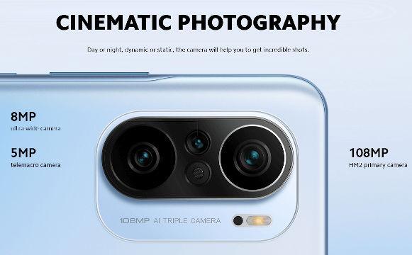 Xiaomi Mi 11X Pro cameras