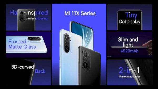 Xiaomi Mi 11X series launched 1 1