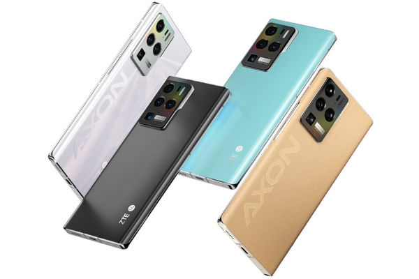 ZTE Axon 30 Ultra 5G in colors
