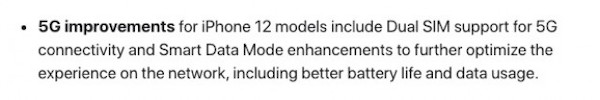 iOS 14.5 Updates Brings Dual SIM 5G Support