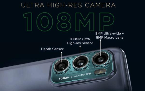 motorola moto g60 cameras
