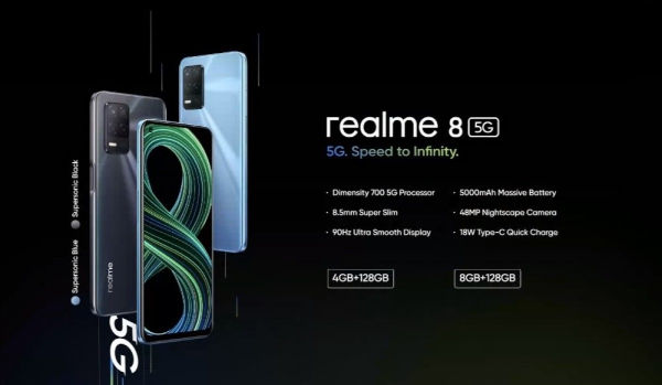 realme 8 5G launched