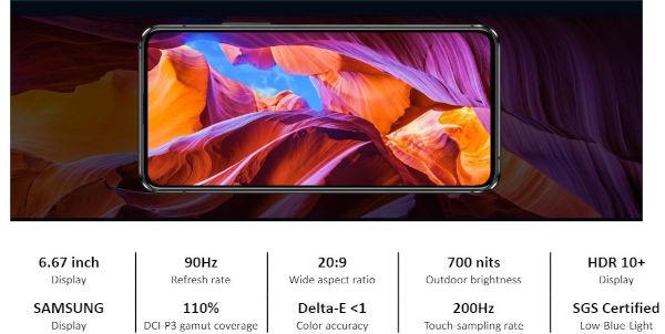 ASUS Zenfone 8 Flip display