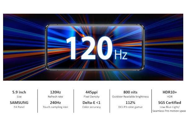 ASUS Zenfone 8 display