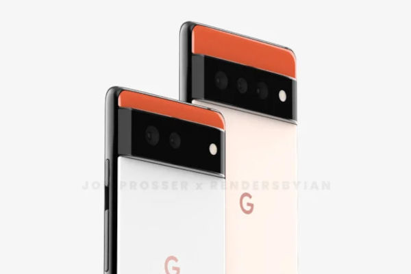 Google Pixel 6 and Pixel 6 Pro Renders Reveal Its New Rear Design 3