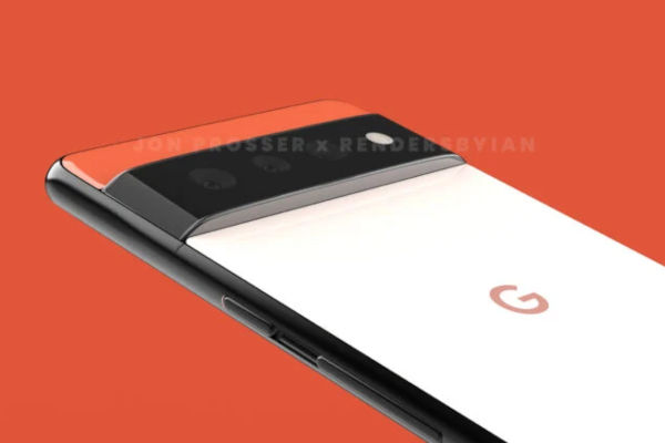 Google Pixel 6 and Pixel 6 Pro Renders Reveal Its New Rear Design 5
