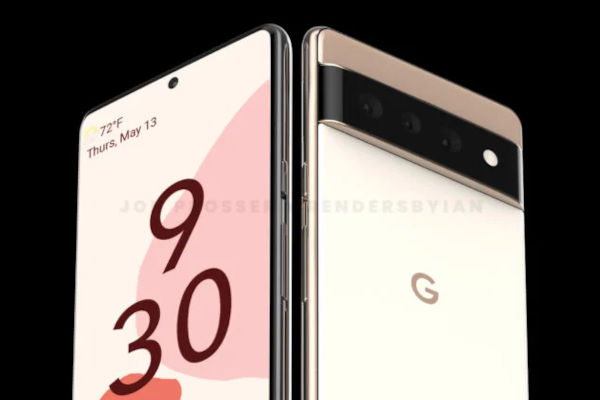 Google Pixel 6 and Pixel 6 Pro Renders Reveal Its New Rear Design 6