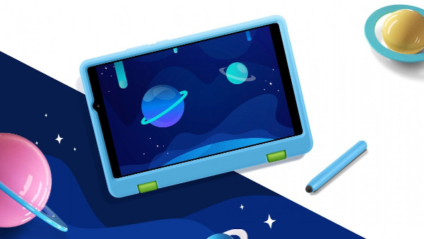 Honor Tablet X7 with kid friendly case