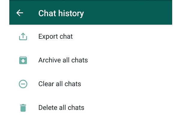 How To export Your WhatsApp Chat history