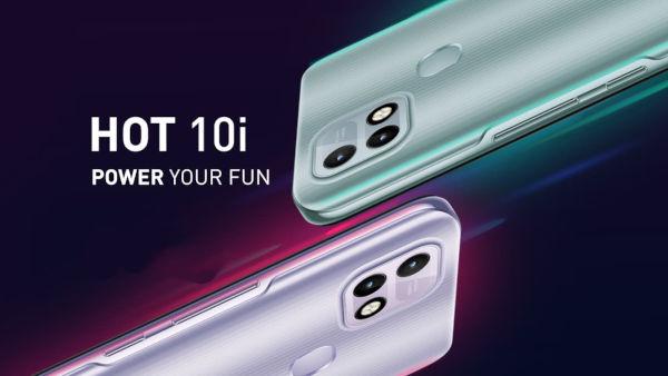 Infinix Hot 10i launched