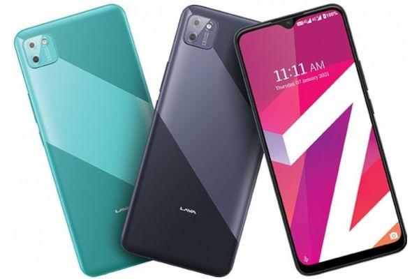Lava Z2 Max in colors