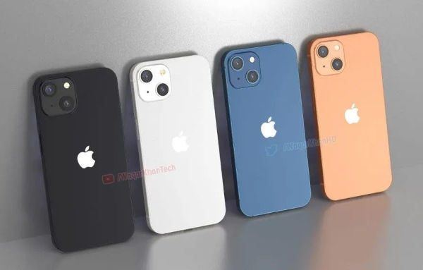 New Renders of iPhone 13 appears online 2