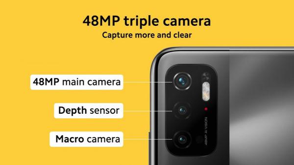 Poco M3 Pro 5G cameras