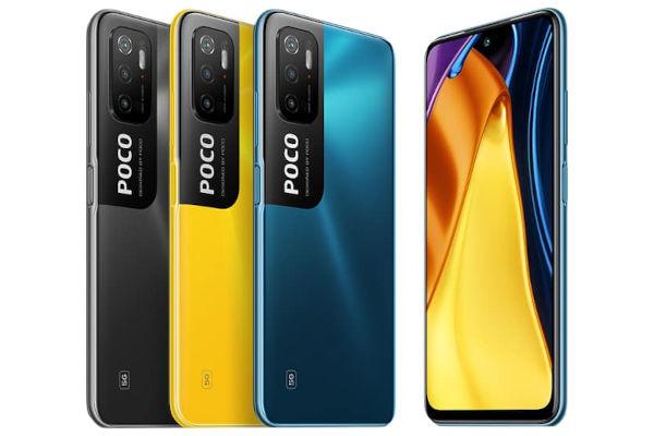 Poco M3 Pro 5G in colors