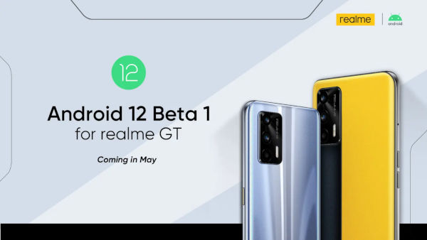 Realme Android 12 Beta