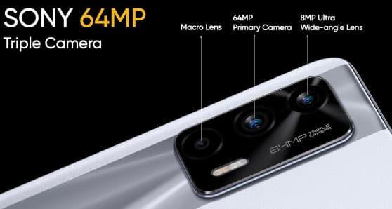 Realme X7 Max 5G cameras