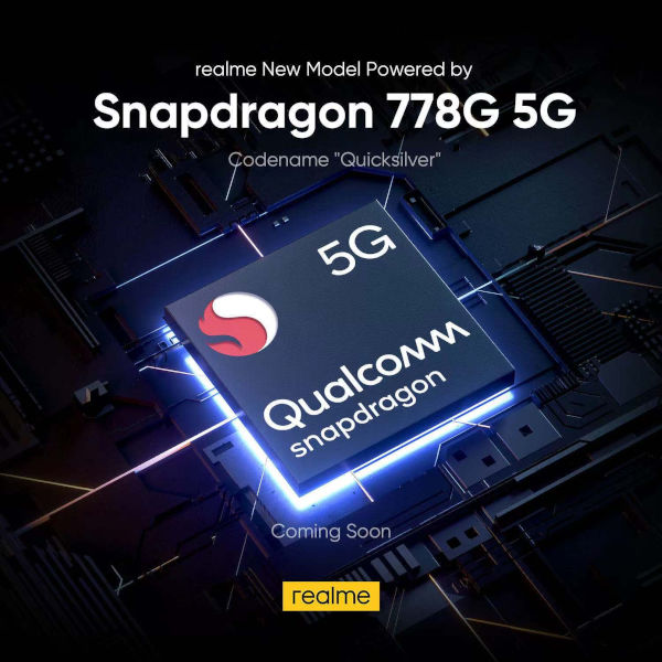 Realme to launch a phone powered by the Snapdragon 778G soon