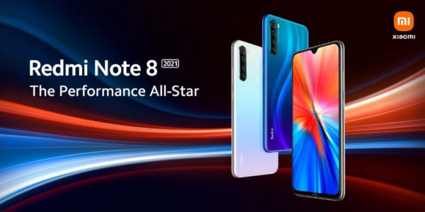 Redmi Note 8 2021 design confirmed