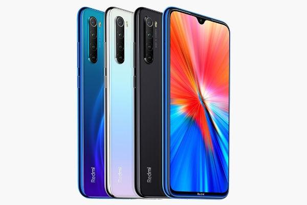 Redmi Note 8 2021 in colors