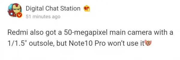 Redmi Smartphone To Come With 50 Megapixel Sensor 1