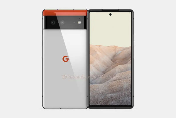 Renders Of Google Pixel 6 Design From All Sides Appears Online 2