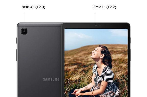 Samsung Galaxy Tab A7 Lite cameras